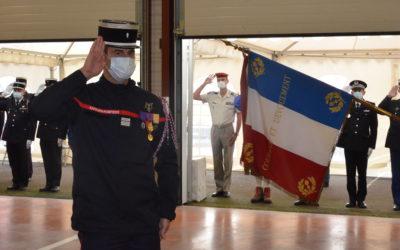 Passation de commandement du SDIS des Hautes-Pyrénées du 2 octobre 2020