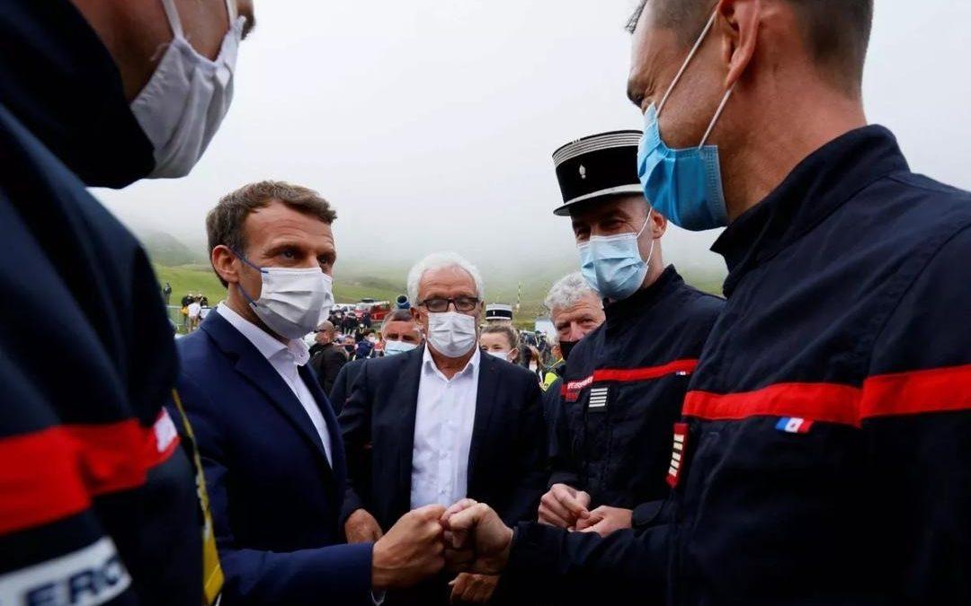 [ Vaccination en altitude – Visite du Président de la République ] 🚴♂️🏔🇫🇷