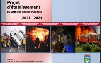 Projet d'établissement du SDIS des Hautes-Pyrénées 2021 – 2024